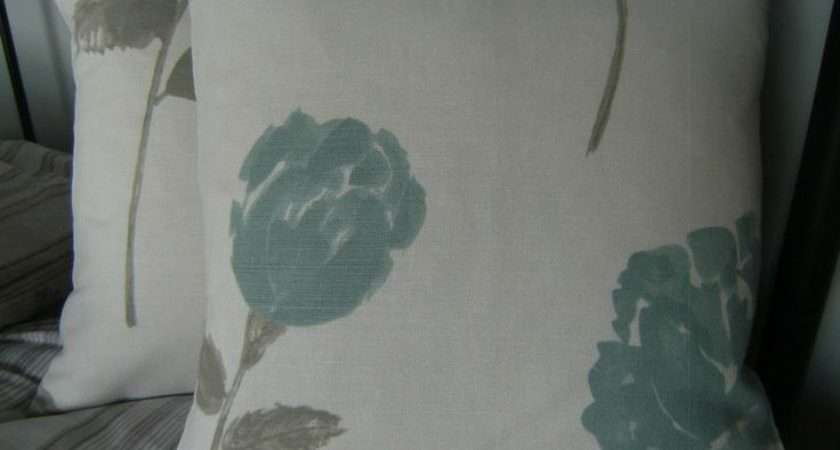 Duck Egg Design Fabric Pair Scatter Cushion Covers John Lewis