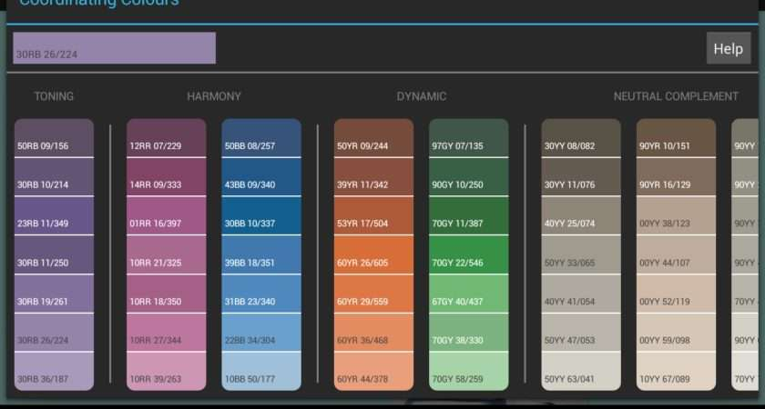 Dulux Colour Concept Android App Created Professional