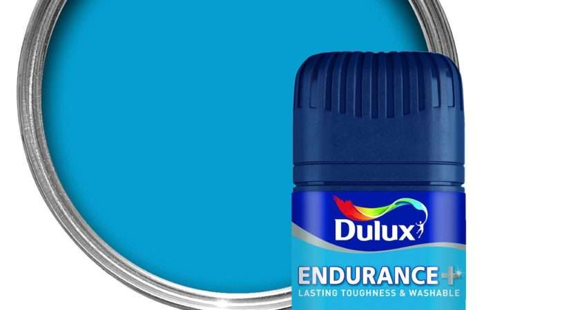 Dulux Endurance Striking Cyan Matt Emulsion Paint