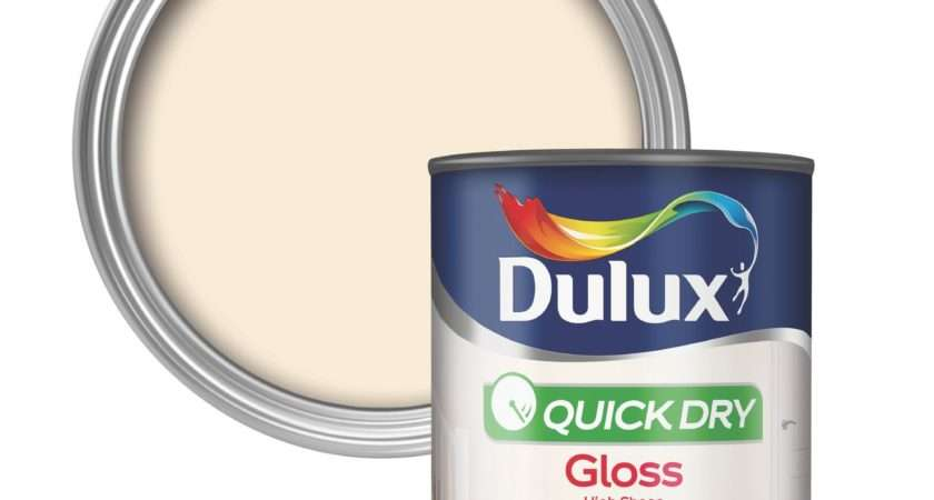 Dulux Interior Natural Calico Gloss Wood Metal Paint