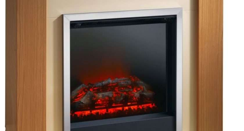 Durham Electric Fire Suite Natural Oak