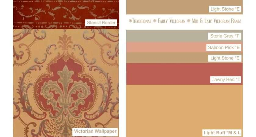 Early Victorian Color Scheme Asignment Project