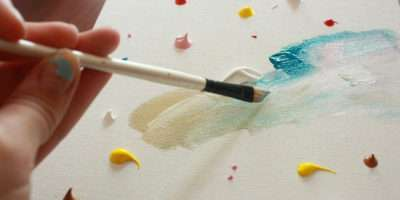 Easy Abstract Painting Diy Flickr Sharing