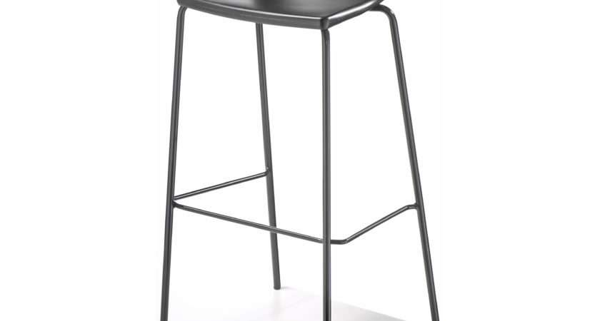 Easy Bar Stool Black Frame Chair Imports