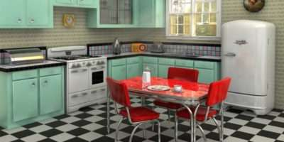 Easy Budget Friendly Ways Give Your Kitchen Vintage Look