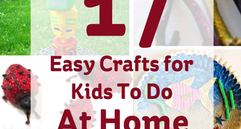 Easy Crafts Kids Home Hobbycraft Blog
