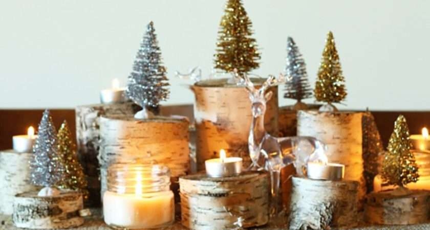 Easy Diy Christmas Decorations Make Simple Decor Feature