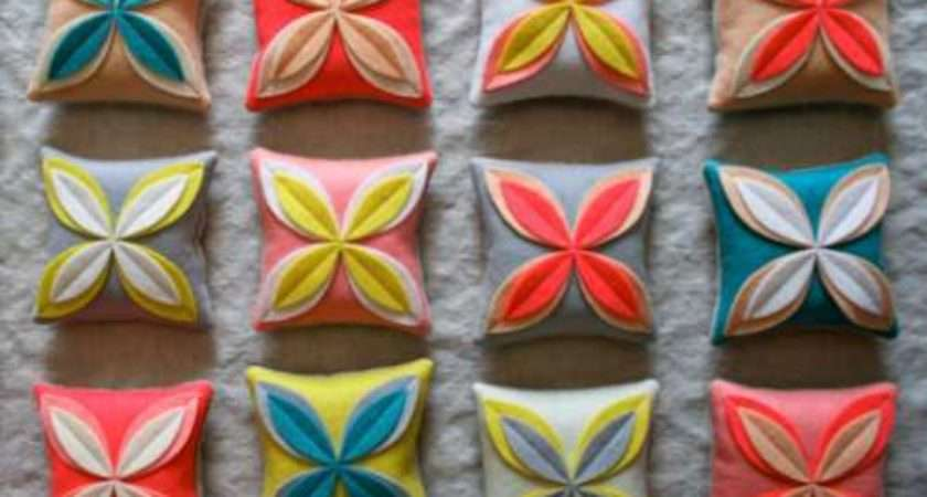 Easy Eye Catching Diy Flower Cushion Covers Your Home