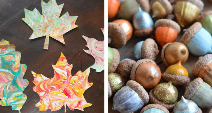 Easy Fall Craft Ideas Adults Diy Projects