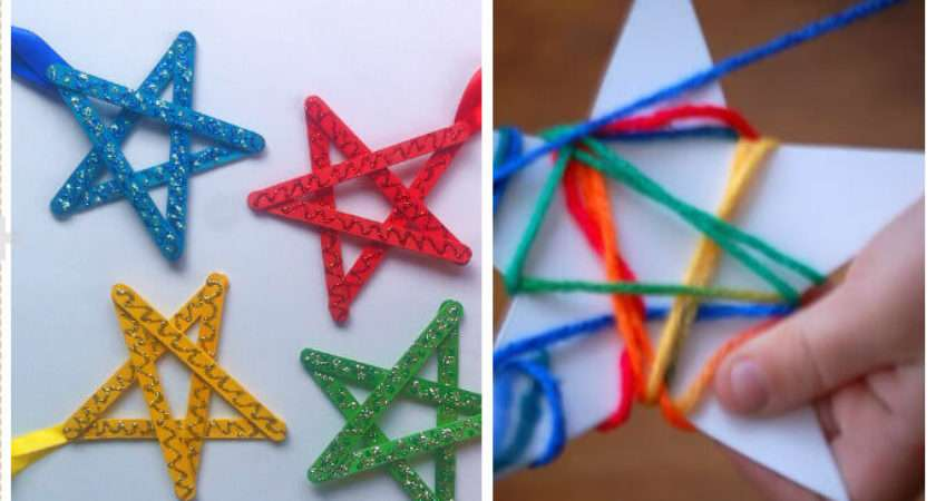 Easy Last Minute Christmas Crafts They Bored