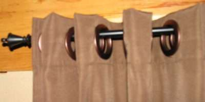 Easy Make Curtains Big Snap Rings Hanging
