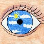Easy Surreal Drawing Ideas Eye Magritte Art Projects