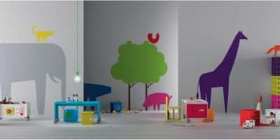 Ebabee Likes Colourful Nursery Furniture Decor Ideas