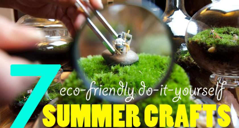 Eco Friendly Diy Summer Crafts Creative Adults Kids