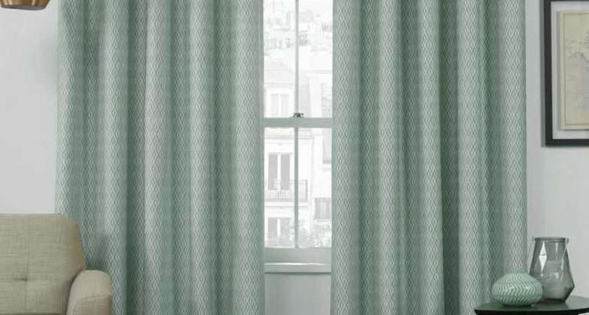 Egg Eyelet Top Curtains Themal Interlined Curtain