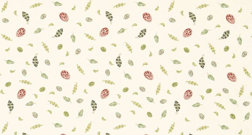 Egg Feather Fabric Sanderson Jane Clayton