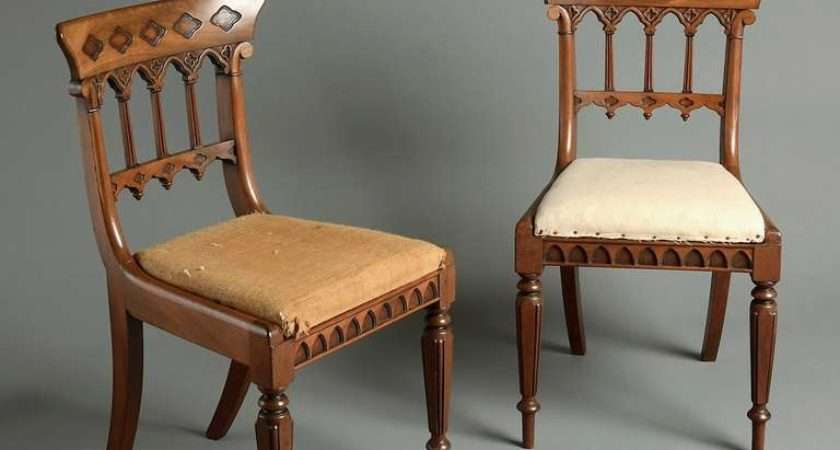 Eight Regency Gothic Dining Chairs Sale Stdibs