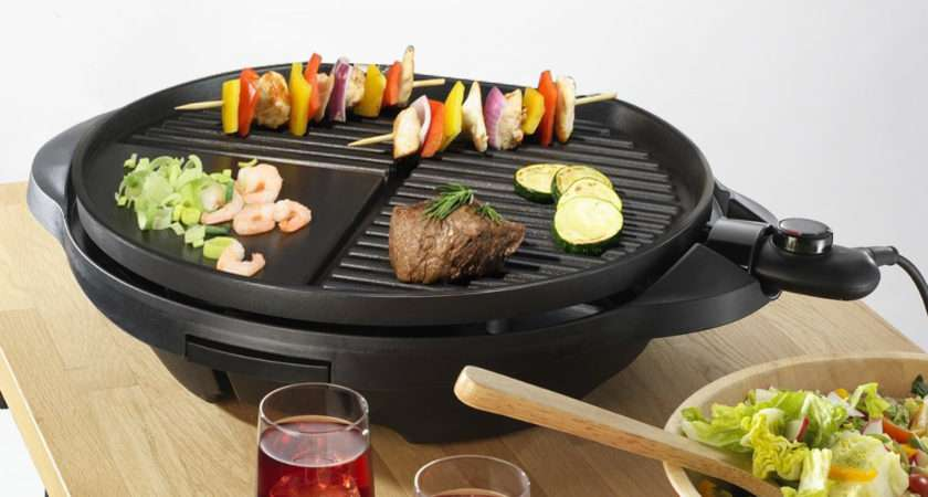 Electric Bbq Grill Griddle Smokeless Non Stick