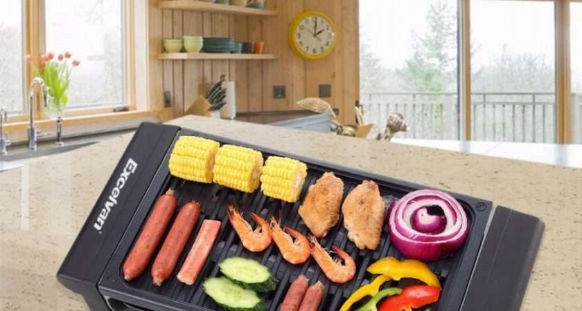 Electric Grill Stainless Steel Indoor Barbecue Bbq