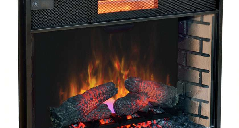 Electric Heat Fireplace Inserts
