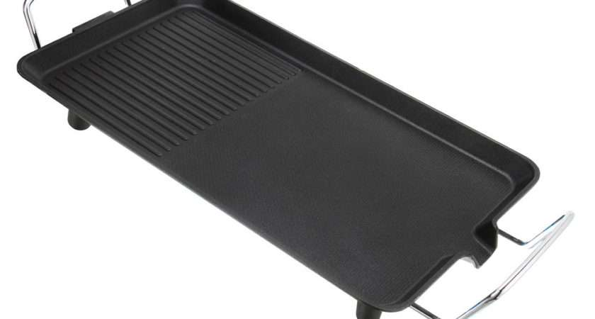 Electric Teppanyaki Table Top Grill Griddle Hot Plate