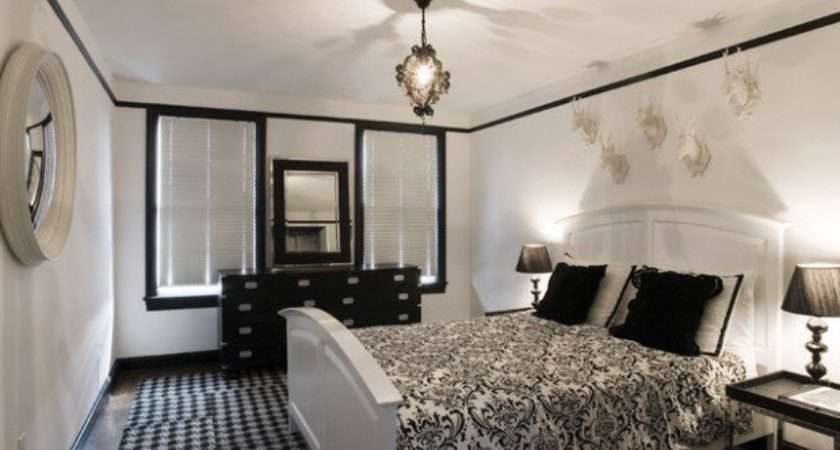 Elegant Black White Bedroom Design Ideas Style
