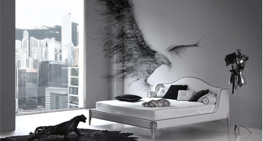 Elegant Black White Bedroom Design Inspiration Digsdigs