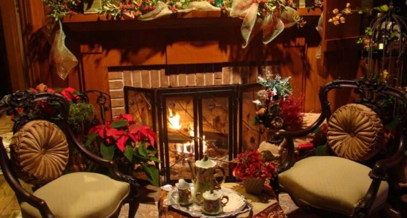 Elegant Christmas Fireplace Decorations Ideas Decor