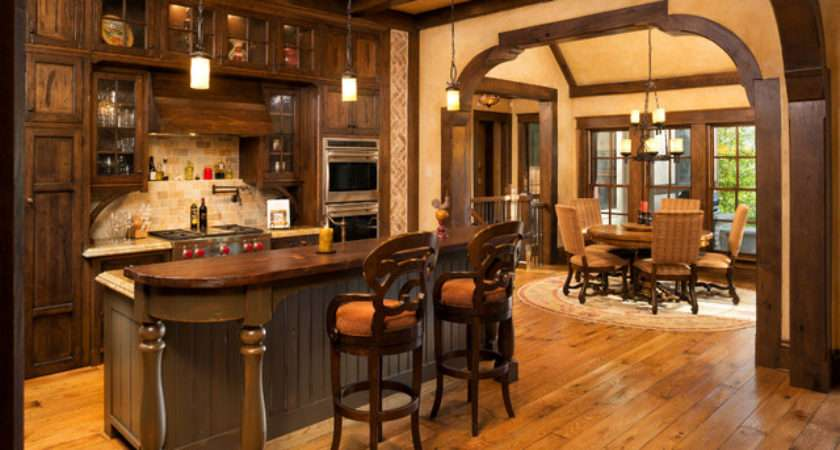 Elegant English Country Home Traditional Kitchen