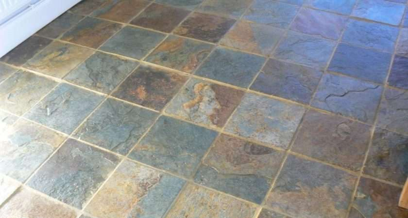 Elegant Slate Floor Tiles Kezcreative