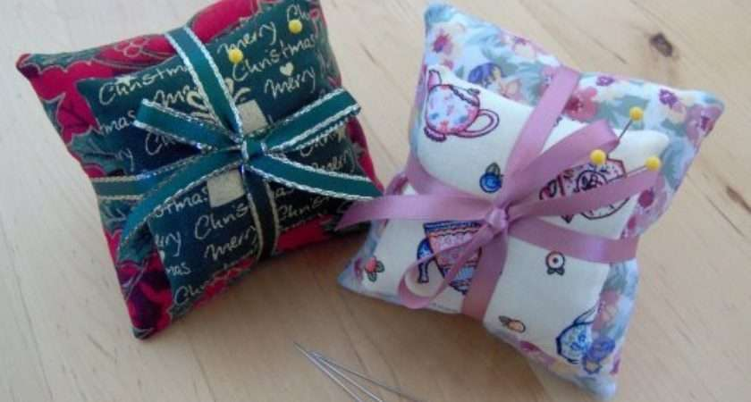 Embroidery Pin Cushion Patterns