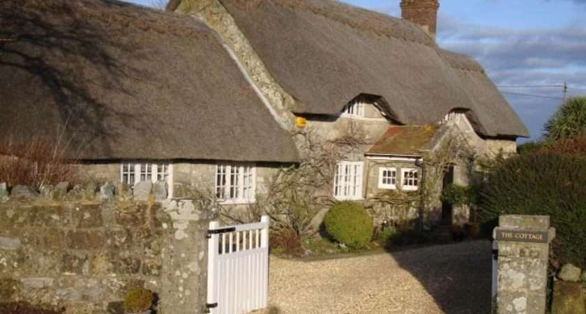 English Cottages Thatched Cottage Type Roof Made