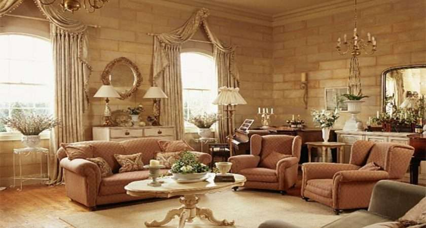 English Country Style Living Room Peenmedia