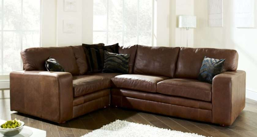 English Sofa Company Modular Leather Corner
