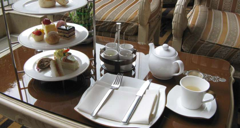 English Tea Table Setting Pixshark