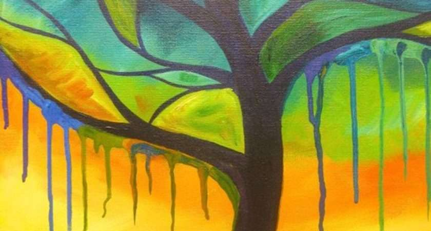 Excellent But Simple Acrylic Painting Ideas Beginners