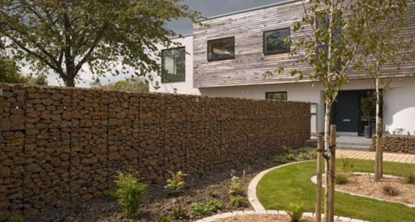 Exceptional House Stone Fence Ideas One Total Photographs Natural
