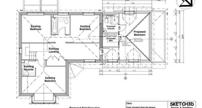 Extension Norbiton Kingston Rear House Design Floor