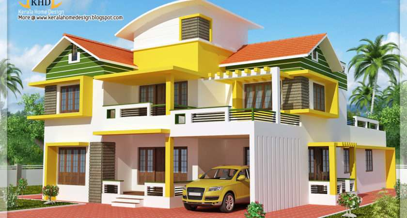 Exterior Collections Kerala Home Design Views