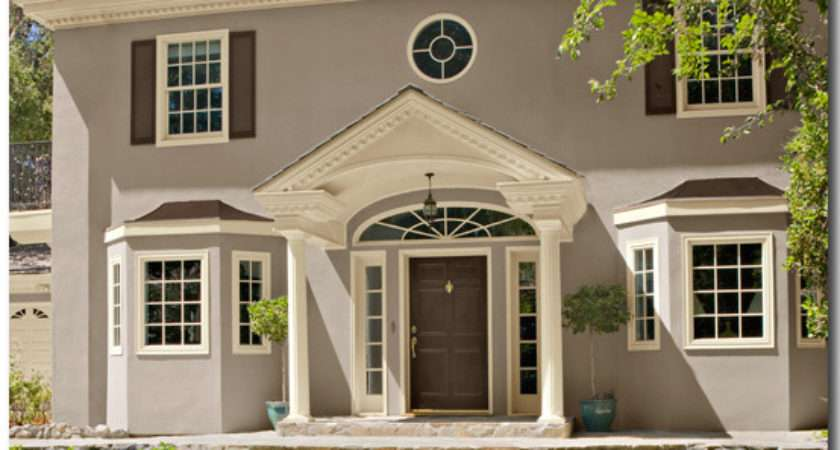 Exterior Paint Color Combinations House