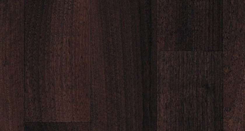 Extra Thick Vinyl Flooring Dark Brown Wood Effect