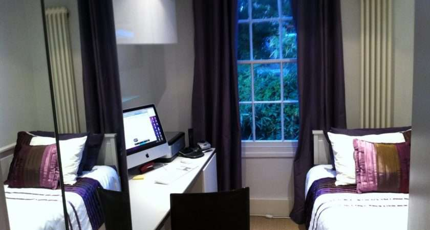 Extremely Tight Spare Bedroom Office Get Home Decorating