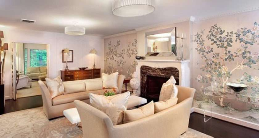 Eye Catching Wallpapered Rooms