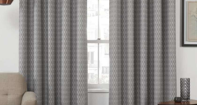 Eyelet Top Curtains Themal Interlined Curtain