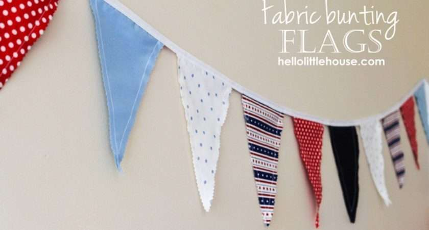 Fabric Bunting Hlh