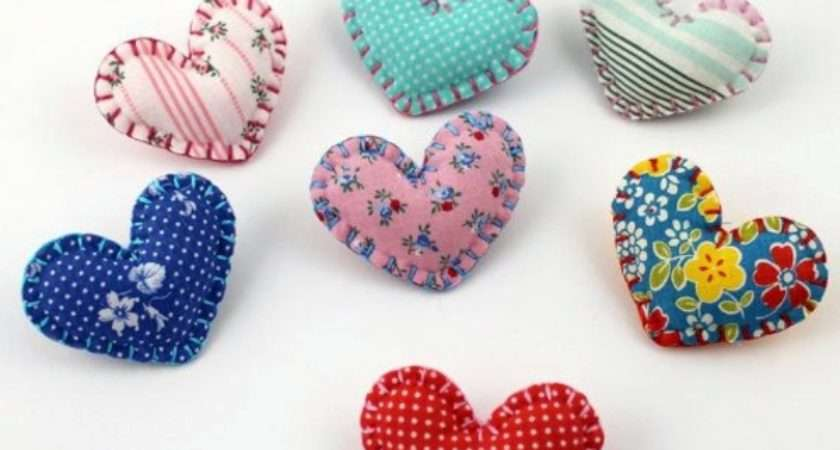 Fabric Heart Sew Cool Diy Ideas Interior Design