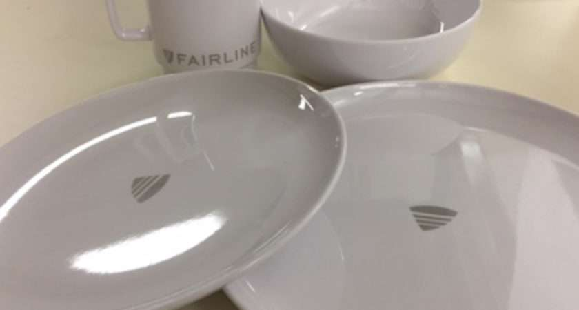 Fairline Melamine Crockery Set Bates Wharf Marine