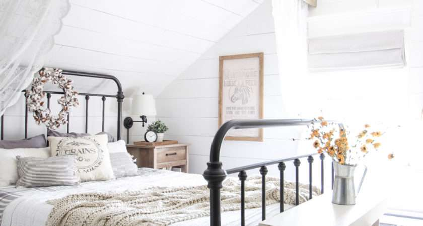 Fall Bedroom Into Home Tour Love Grows Wild