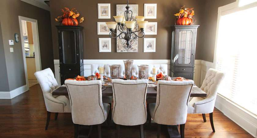 Fall Dining Room Table Decor Inspiration