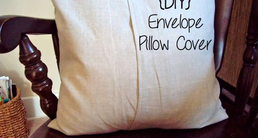 Fancy Life Diy Envelope Pillow Cover